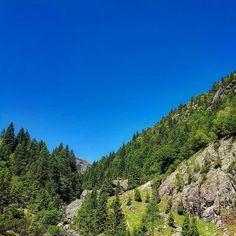 Vista dal Rifugio Gianpace #montagna #trekking