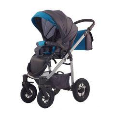 Kočárek Jumper Light plastová korbička, Aqua Baby Strollers, Jumper, Aqua, Children, Grey, Fabric, Baby Prams, Young Children, Gray