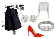 """""""Formal B&W"""" by newlynaturalj on Polyvore"""