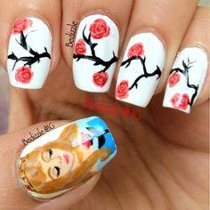 Sleeping+Beauty+Nails | Found on bedizzlenails.blogspot.fr