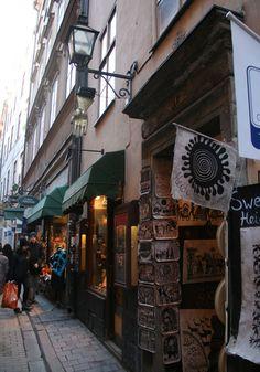 Stockholm love - shopping in Gamla Stan, Stockholm