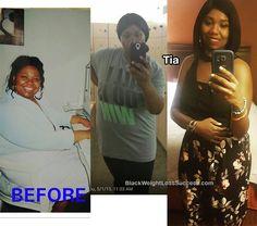 tia brooks weight loss
