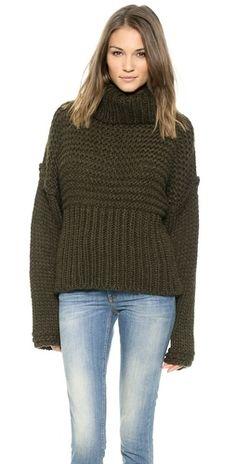 Acne Studios Gaja Oversized Sweater | SHOPBOP