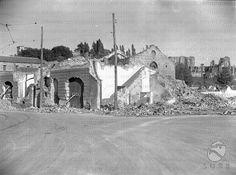 Magazzini in fase di demolizione nell'area del Circo Massimo 09.10.1936