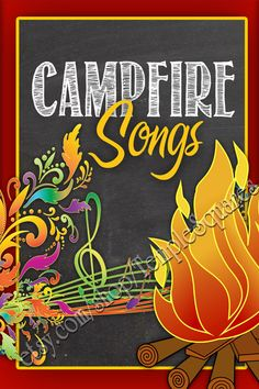 PRINTABLES - YW Girls Campfire Songs Book. LDS 2 Sizes. 48 Favorite Camp Songs, Jingles, Cheers and Hymns.  etsy.com/shop/TempleSquares