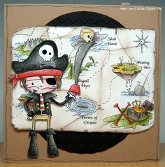 Car-D-elicious: Tiddly Inks - Dread pirate Dylan