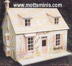 Cottage Miniature Doll House Kit