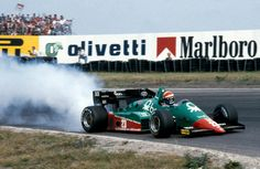 Eddie Cheever (Alfa Romeo) Grand Prix des Pays Bas - Zandvoort 1984 - Formula 1 HIGH RES photos (Old and New) Facebook.