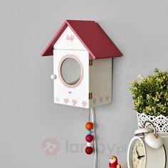Zabawna lampa ścienna BIRDIE do dziecięcego pokoju 8567015