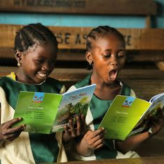 Girls reading aloud #jumia #1child1book #kaykluba #purplecrib #lagos