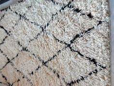 White/Black Berber Rugs!!! Available on www.saharadesignconcepts.com!! Visit us…