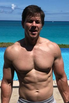 Mark Wahlberg Shares a Shirtless Easter Message For Fans, and Our Eggs Are Cracking Hollywood Male Actors, Actors Male, Hot Actors, Actors & Actresses, Mark Wahlberg Young, Actor Mark Wahlberg, Donnie Wahlberg, Beautiful Men Faces, Gorgeous Men