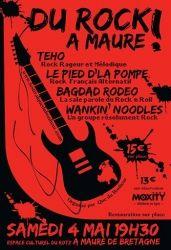 Festival « Rock Que du Bonheur », Maure-de-Bretagne, Bretagne