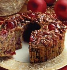 Rich Fruit Cake Recipe - Southern Christmas Fruitcake -