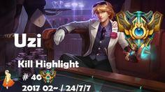 Challenger Kill Highlight #40 Uzi