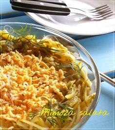 Mimoza salata ... Ova šarena i ukusna salata je vrlo slična ruskoj salati, tako da postoji opravdana dilema koja je bolja 😎   #coctailparty #pavlaka #krompir #majonez #mimozasalata #partyfood #predjela #salate #šargarepa #šunka #sourcream #potatoes #mayonnaise #mimosasalad #appetizers #salads #carrot #ham #Food #ricetta #recipes #homecooking #serbian #homemade #foodphotography #foodbloggers #Goodfood #рецепты #blogger #recepti