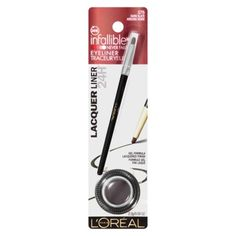 Head over to your nearest Target to pick up CHEAP L'Oreal Infallible Eye Liner! These make great stocking stuffer ideas!   Click the link below to get all of the details ► http://www.thecouponingcouple.com/cheap-loreal-infallible-eye-liner-at-target/