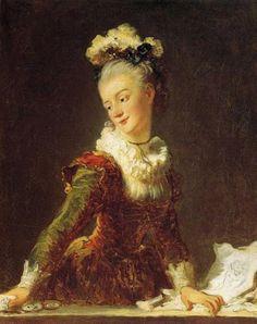 VENETIAN PLEASURES ORIENTAL MAN DANCE SHY WOMAN 1718 PAINTING BY WATTEAU REPRO