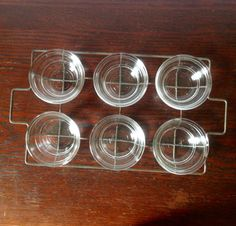 RARE Vintage 1930s GlasBake Clear 4oz Custard by TheKitchenPicker