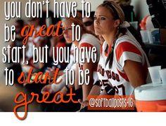 jennje+finch+quotes | Jennie Finch Quote Softball