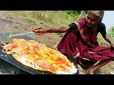 Tasty Egg Dosa || King of Egg Dosa By My Grandma's Village Style || Country Foods - YouTube