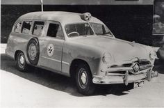 1949 Ford ambulance (Australian)