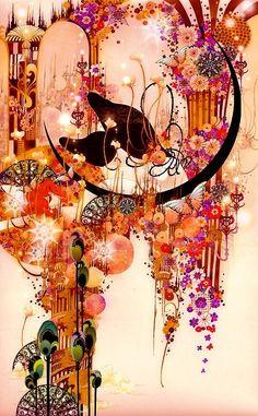 Paintings by Aya Kato Japanese Artist