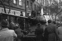 Az ember, aki behackelte magát a történelembe - Fortepan Budapest Hungary, Akita, Revolution, Batman, History, Utca, Google, Historia