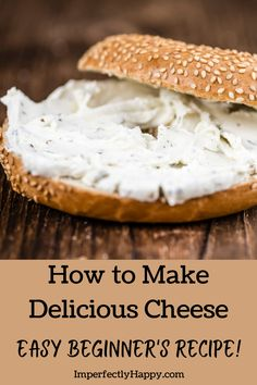 How to make delicious spreadable cheese with this easy beginner's recipe for chevre cheese.