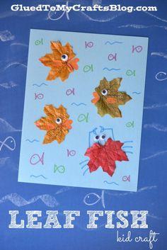 Leaf Fish - Kid Craft