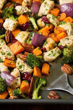 Chicken Broccoli and Sweet Potato Sheet Pan DinnerReally nice  Mein Blog: Alles rund um Genuss & Geschmack  Kochen Backen Braten Vorspeisen Mains & Desserts!