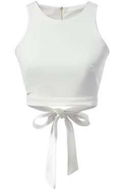 Shop White Zipper Hollow Bow Tank Top online. SheIn offers White Zipper Hollow Bow Tank Top & more to fit your fashionable needs.