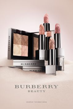The Burberry Beauty Iconic Nudes collection