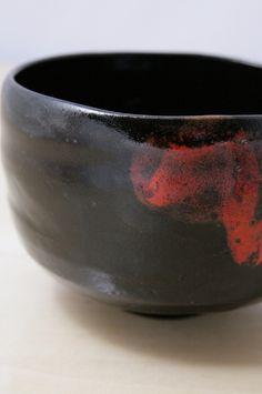 tea bowl in the way of tea raku style