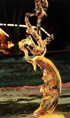Jazz Saxophone Ice Sculpture!