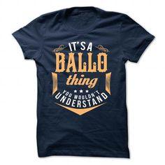 BALLO T-Shirts, Hoodies (19$ ===► CLICK BUY THIS SHIRT NOW!)