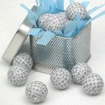 Wedding Favors & Party Supplies - Favors and Flowers :: Wedding Favor Themes :: Golf and Sports Themed Favor :: Mini Chocolate Golf Balls - 1 lb