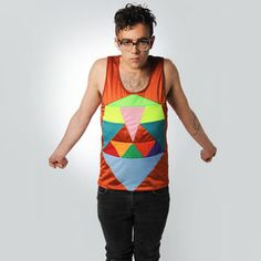 Press Fitted Tank Unisex now featured on Fab.