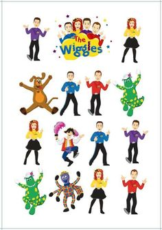 1 x The Wiggles Temporary Tattoo Sheet (as per Picture). As this tattoo should last for a week or so! Sheet Size: 14.5cm x 10cm. THIS PRODUCT IS FOR PERSONAL USE ONLY. I should not be held responsibility of the ETA. | eBay! Wiggles Cake, Wiggles Party, Wiggles Birthday, The Wiggles, Twin Birthday, Spongebob Birthday Party, First Birthday Party Themes, Wild One Birthday Party, Emma Wiggle