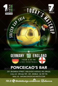 Sports Bar Flyer Template V  Sports Bars Flyer Template And