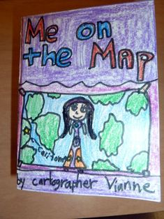 me on the map - perfect for our maps and globes unit!