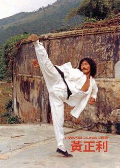 Hwang Jang Lee in Tiger Over the Wall (1980)