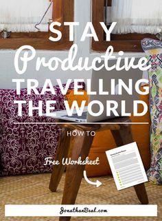 Digital Nomad | Productive | Productivity