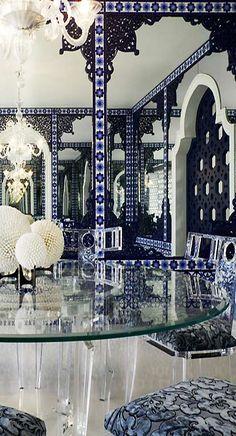 Geoffrey Bradfield | Luxury Interior Design | Moroccan Moderne, Palm Beach