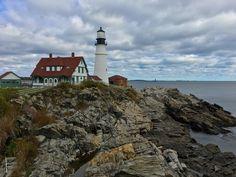 Cape Elizabeth Light (Portland Head Light), Cape Elizabeth, Maine