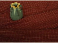 Rustic Ranch Red Plaid Mill Dyed Wool