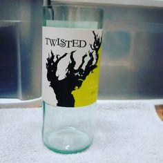 #twisted #pinotgrigio  #wine #bottle #candle #order it #today  #etsy #winelover #christmas #winetime #scentedcandle #handmade