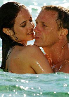 La sculpturale Eva Green et Daniel Craig - James Bond : Casino Royale