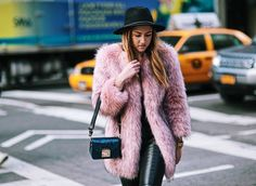 Surviving The NYC Cold With This Pink Fur Coat | Fashion is my Forte