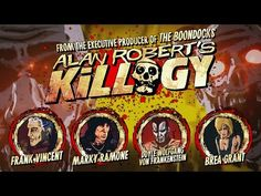 Get a First Look At An Insane 'Killogy' Clip Starring A Ramone, A Goodfella And Doyle From The Misfits First Animation, Animation Series, Brea Grant, Frank Vincent, Proof Of Concept, Boondocks, Executive Producer, Misfits, Teaser